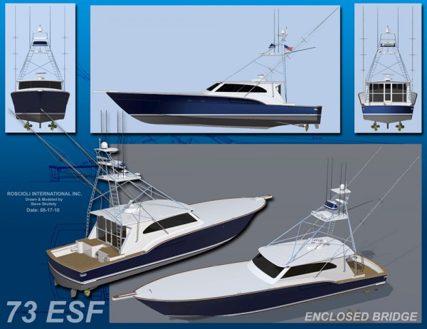 Portfolio > 73 ESF Express Sportfish - Enclosed Bridge