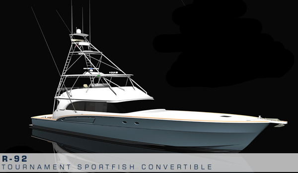 R-92 Tournament Sportfish Convertible by Roscioli Donzi