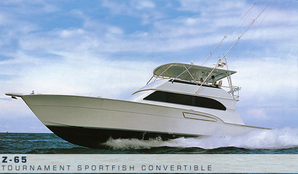 The boat comes from Donzi Sportfishing Yachts. And it is another example of ...